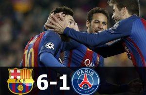 Barcelona Bisa Membalas Paris-Saint Germain 6-1