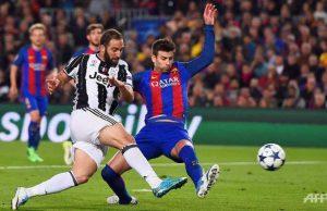 Cuplikan Pertandingan Barcelona vs Juventus 0-0