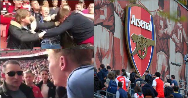 Fans Arsenal Bertengkar Karena Berbeda Pendapat Mengenai Wenger