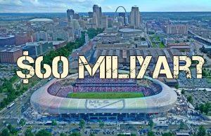 Fans Menargetkan Iuran $60 Miliyar Untuk Pembangunan Stadiun St Louis
