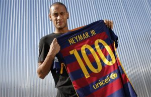 Gol ke 100 Neymar Untuk Barcelona