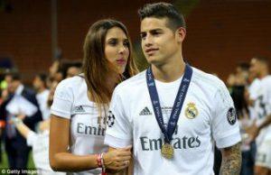 James Rodriguez Ingin Tetap Tinggal Di Real Madrid, Ujar Sang Istri