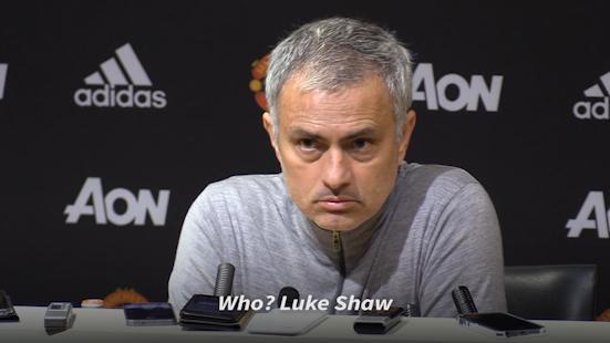 Kritik Pedas Mourinho Kepada Luke Shaw