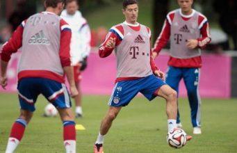 Lewandowski Kembali Latihan Bersiap Untuk Laga Real Madrid