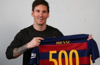 Lionel Messi Mencapai Gol Ke 500 Untuk Barcelona