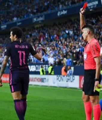 Luis Enrique Anggap Kartu Merah Neymar Tidak Adil