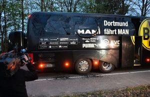 Pertandingan Dortmund Ditunda Karena Terjadi Ledakan Dekat Bus Tim