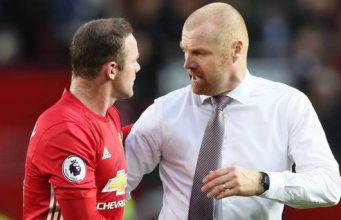 Sean Dyche Dukung Rooney Gantikan Ibrahimovic Yang Cedera