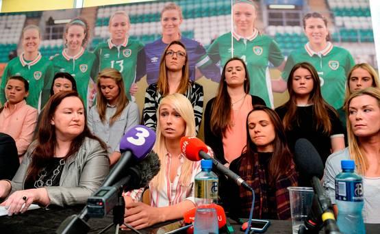 Timnas Wanita Republik Irlandia Protes Atas Ketidaklayakan Fasilitas