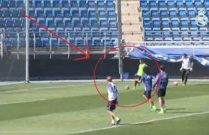 Tonton Akrobat Morata dan Marcelo di Latihan Madrid