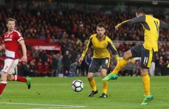 [Tonton] Cuplikan Pertandingan Middlesbrough vs Arsenal 1-2 (1742017 – Premier League)