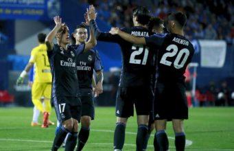 Tonton Ringkasan Pertandingan Real Madrid vs Leganes (4-2)