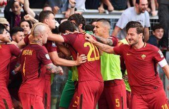 Champions League Di Tangan, Selamat Jalan Totti