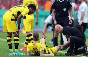 Dortmund Konfirmasi Cedera Ligamen Lutut Marco Reus