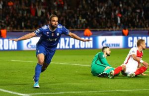 Gonzalo Higuain Beri Juve Leg Pertama Yang Sehat [Monaco 0 – Juventus 2]