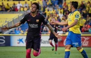 Hat-Trick Dari Neymar Terus Menekan Madrid (Las Palmas 1 – 4 Barcelona)