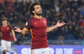 Mohamed Salah Menunjukkan Gol Ciamik [Pescara 1 – Roma 4]