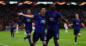 Pogba dan Mkhitaryan Mengunci Kemenangan Europa League (Ajax 0 – 2 Manchester United)