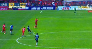 Tendangan Tengah Lapangan Di Liga MX Ini Jadi Gol Terbaik Kedua Minggu Ini