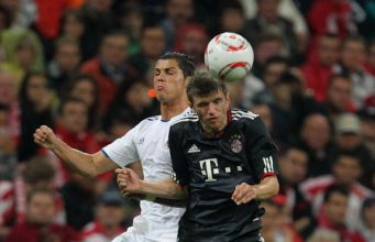 """Thomas Muller Sanjung Ronaldo """"Luar Biasa"""" Dan Akui Sundulannya Terbaik"""