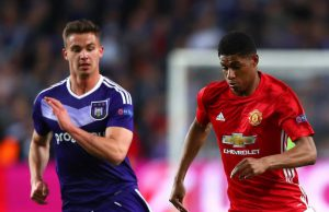 Cuplikan Pertandingan Manchester United vs Anderlecht 2-1 (2142017 – Europa League)