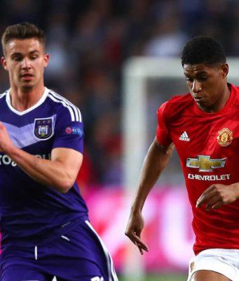 Cuplikan Pertandingan Manchester United vs Anderlecht 2-1 (2142017 – Europa League)