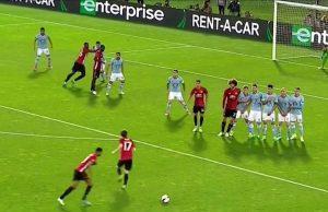 Tendangan Bebas Marcus Rashford Perkuat Semi Final United