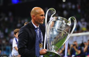 Zinedine Zidane Konfirmasi Tetap Melatih Di Madrid