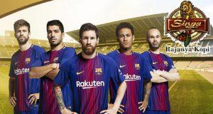 Kopi Singa Jadi Sponsor Regional Resmi Barcelona