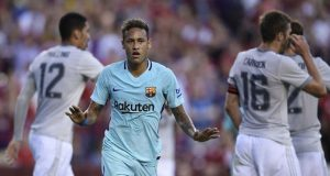 Neymar Dulang 1 Kemenangan Untuk Barca di ICC (Barcelona 1 - Manchester United)