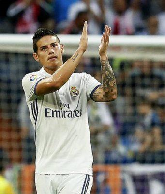 Salam Perpisahan James Rodriguez Kepada Real Madrid