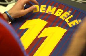 Barcelona Rekrut Ousmane Dembele Untuk Gantikan Posisi Neymar