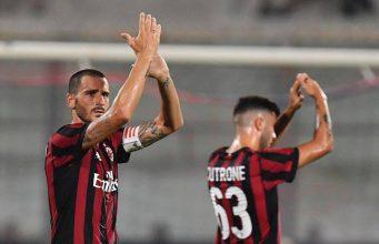 Bonucci Menikmati Laga Debut AC Milan Dengan Kemenangan Besar Atas Shkendija