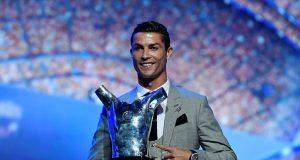 Cristiano Ronaldo Jadi Pemain Terbaik Eropa, Kalahkan Messi dan Buffon