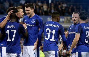 Keane Buka Catatan Gol Di Musim Europa League (Everton 2 - 0 Hajduk)