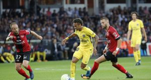 Neymar Catatkan Gol dan Assist di Debut PSG (Guingamp 0 - 3 Paris Saint-Germain)