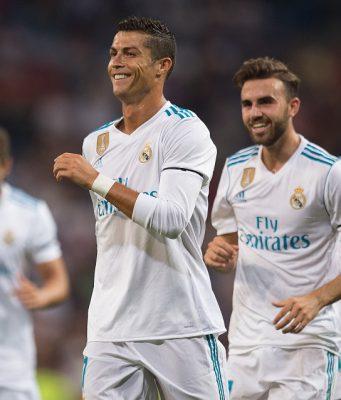 Ronaldo Tetap Cetak Gol Meski Kena Sanksi LaLiga (Real Madrid 2 - 1 Fiorentina)