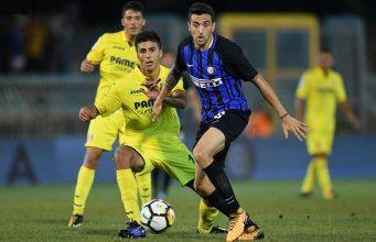 Tendangan Volley Jovetic Hiasi Kemenangan Inter (Inter Milan 3 - 1 Villarreal)