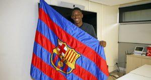 Usai Cek Medis, Dembele Resmi Jadi Pemain Barcelona