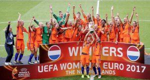 Vivianne Miedema Bersinar, Timnas Putri Belanda Juarai Euro 2017