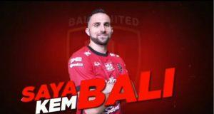 Ilija Spasojevic Resmi Berseragam Bali United!