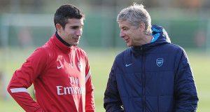 Robin Van Persie Dukung Arsene Wenger Di Arsenal!