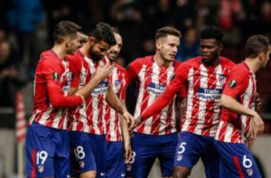 Atletico Madrid Berhasil Taklukkan Lokomotiv Moskow 3-0