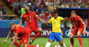 Hasil Pertandingan : Brasil vs Belgia