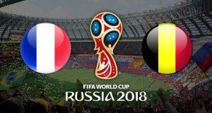 Prediksi Semi-final Piala Dunia 2018 : Prancis vs Belgia
