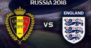 Prediksi Skor Piala Dunia 2018 - Belgia vs Inggris