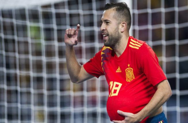 Jordi Alba Kaget Dengan Keputusan Pelatih Timnas Spanyol