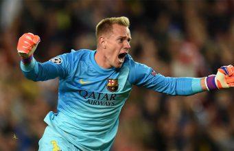 Bek Kiri Barcelona Sebut Marc-Andre Ter Stegen Kiper Terbaik di Dunia