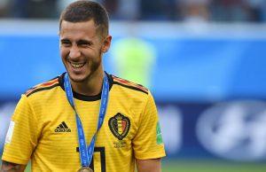 Eden Hazard Dukung Pemain Ini Raih Ballon D'Or