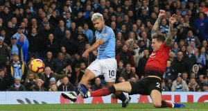 Hasil pertandingan Manchester City Vs Manchester United